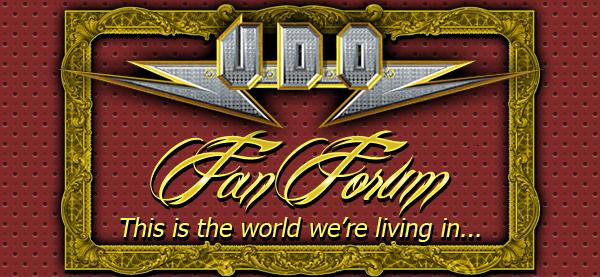 U.D.O. Fan Forum